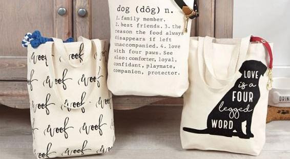 three Cloth bags with an article written on it
