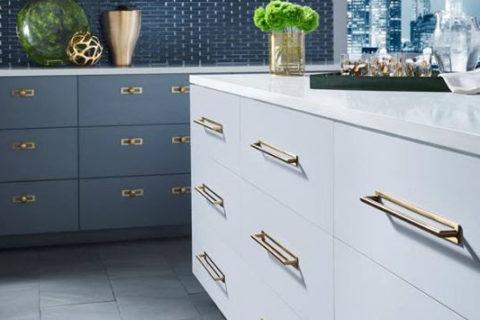 Kitchen hardware knobs and pulls